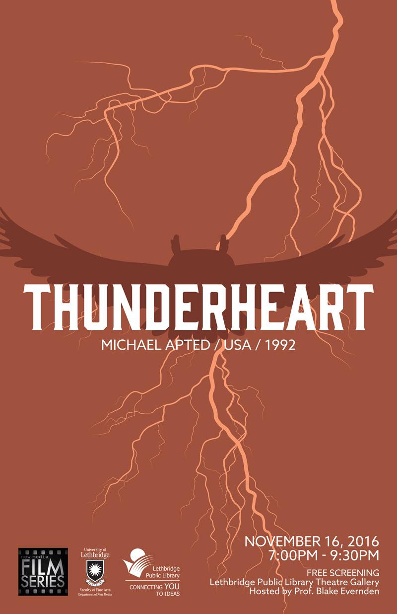 Thunderheart poster