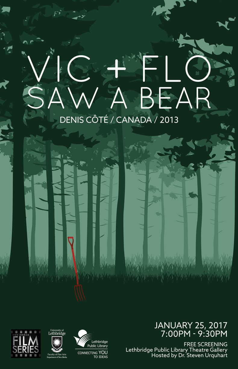 Vic + Flo Saw A Bear poster