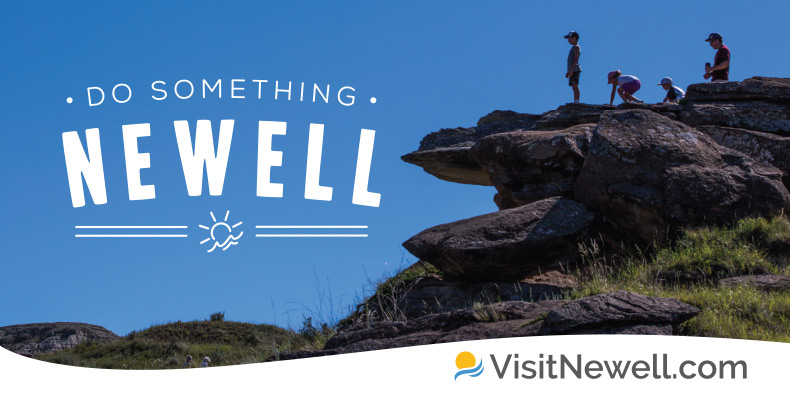 Visit Newell Billboard Do Something Newell