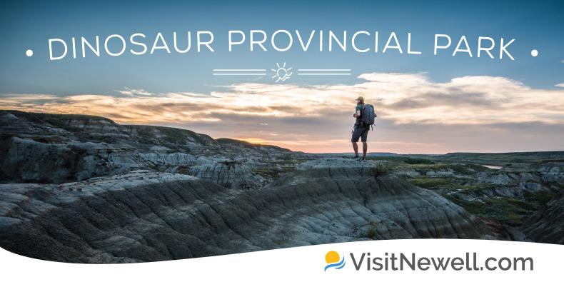 Visit Newell Billboard Dinosaur Provincial Park