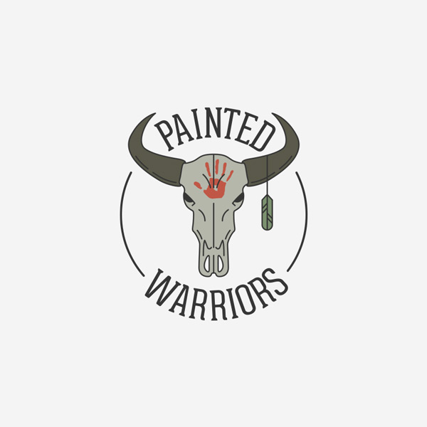 Painted Warriors logo