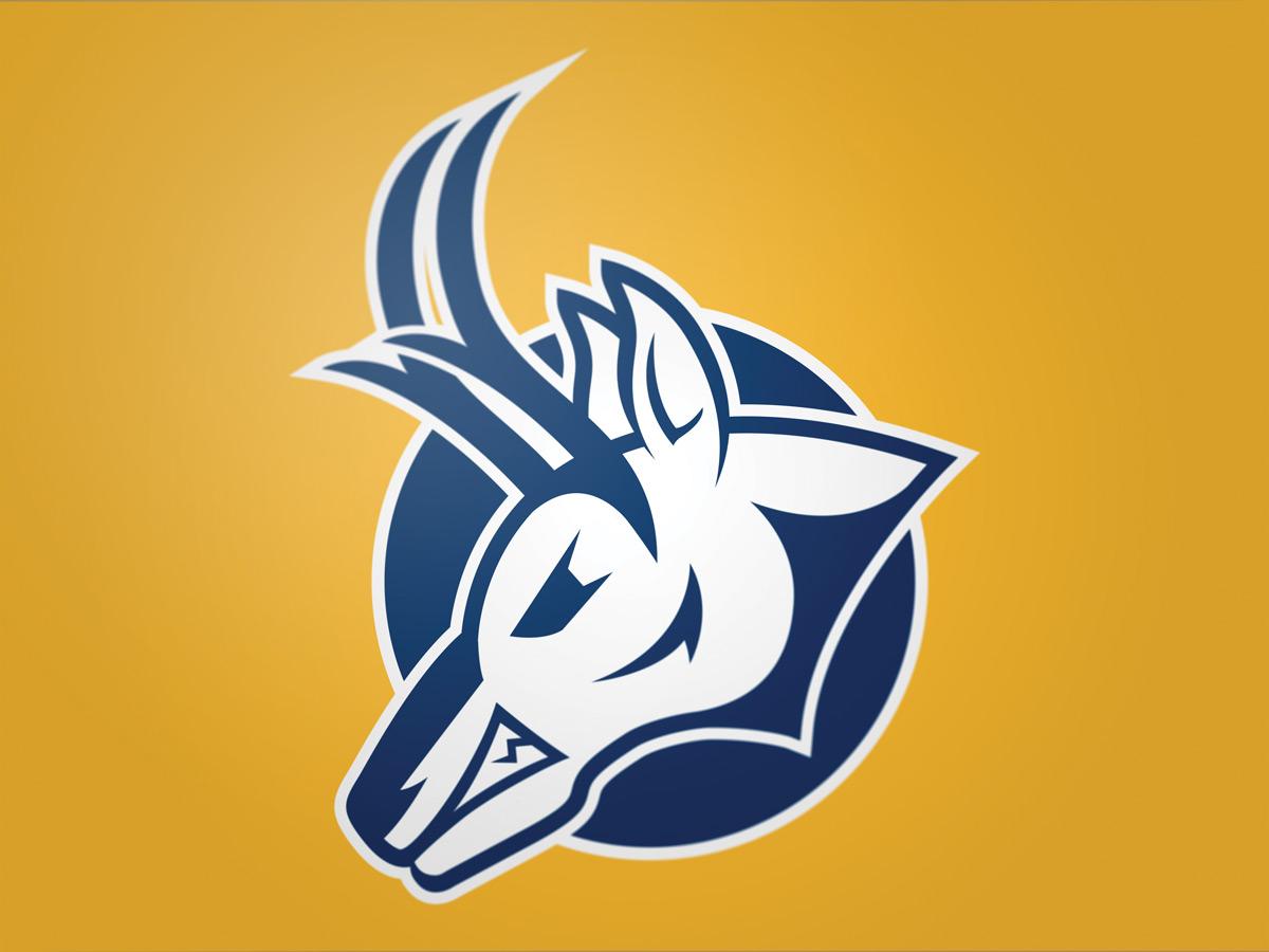 University of Lethbridge Pronghorns alternate logo