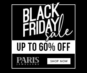 Paris Jewellers Black Friday Google display ad