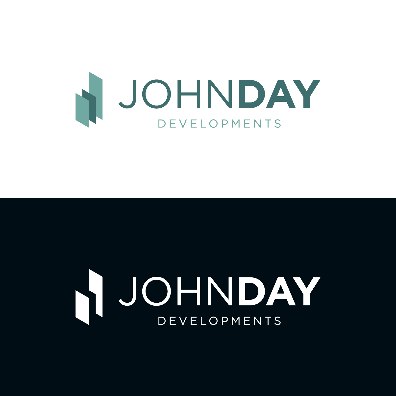 Alternate John Day Developments logo redesign option