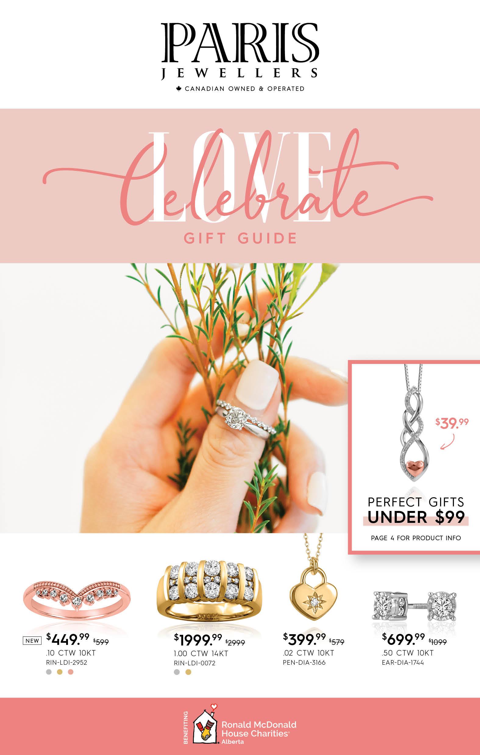 Paris Jewellers Celebrate Love 2021 Cover
