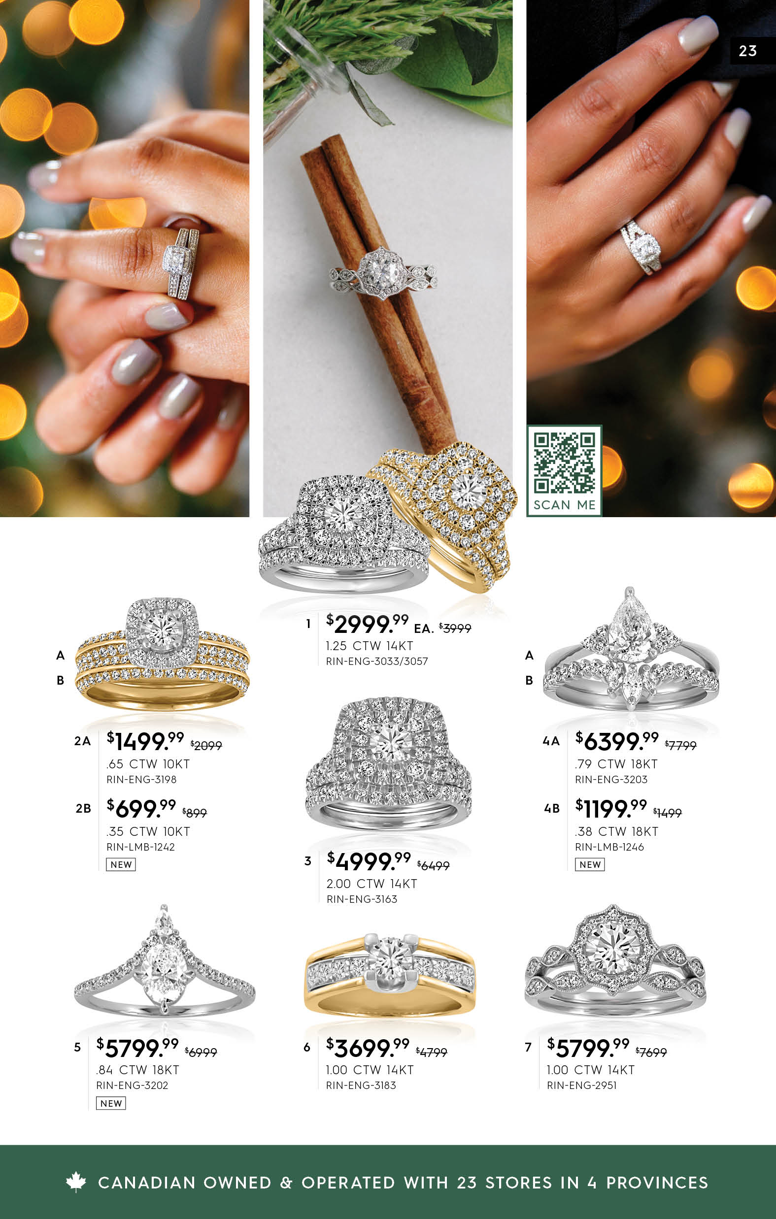 Paris Jewellers Holiday 2020 Flyer Page Preview