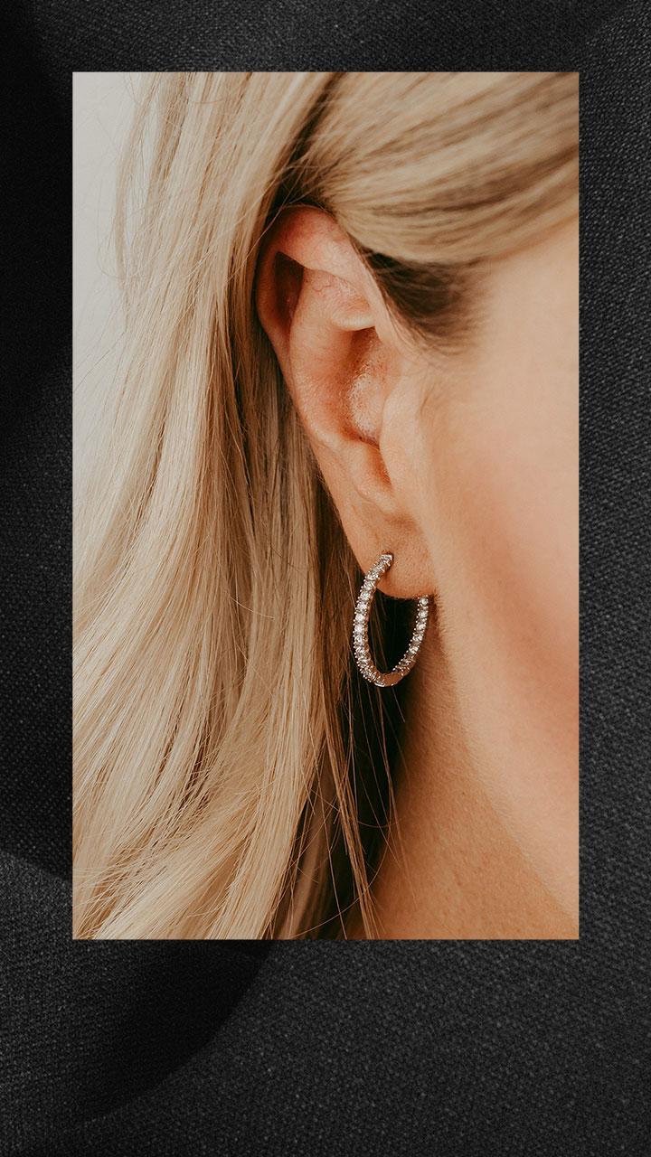 Paris Jewellers little black dress instagram story