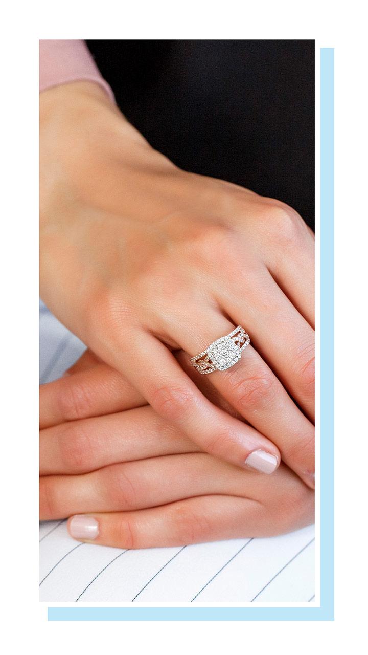 Paris Jewellers Instagram Stories 30% off engagement rings