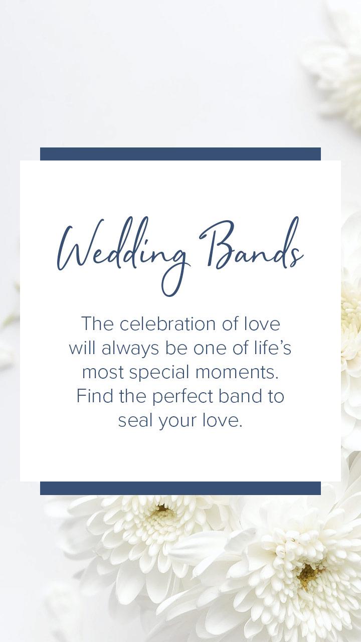 Paris Jewellers wedding bands instagram story